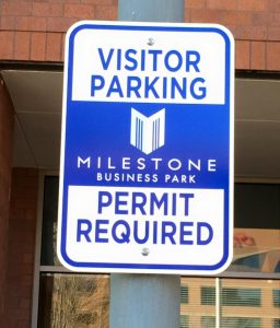 Metal Signs custom parking outdoor metal traffic sign safety wayfinding 256x300